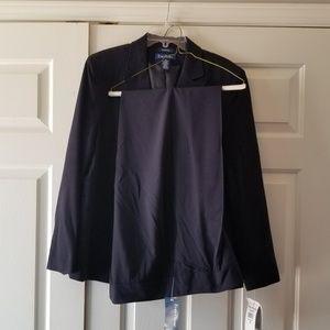 NWT Navy Blue Evan Picone Ladies Suit